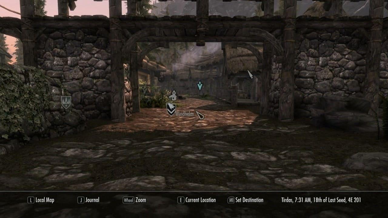 Skyrim Map in full 3D