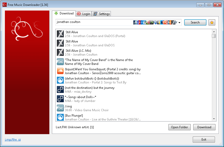 Free Music Downloader 1.82