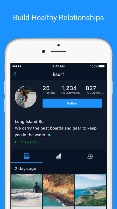 Followers + for Instagram Follower Analytics 2.1.1 Social &Communication iphone