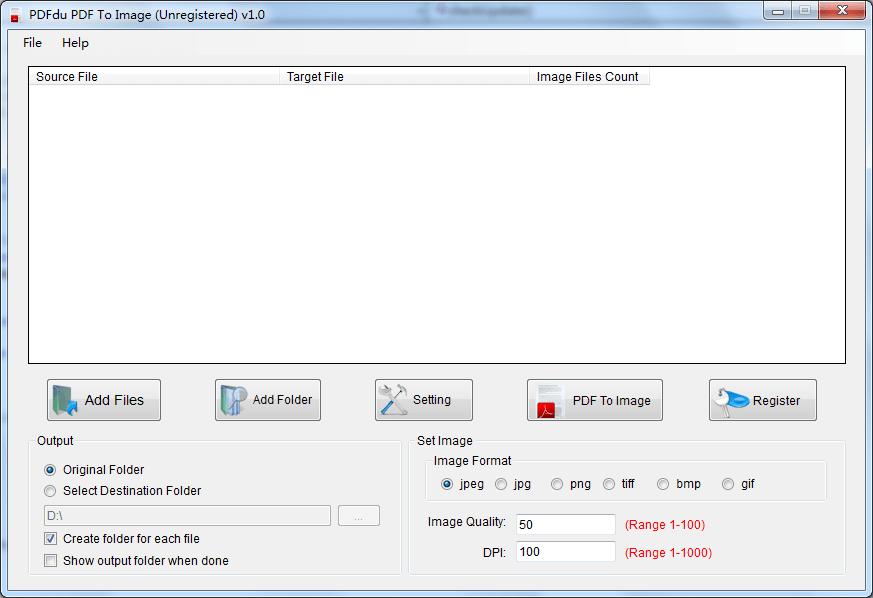 PDFdu PDF To Image