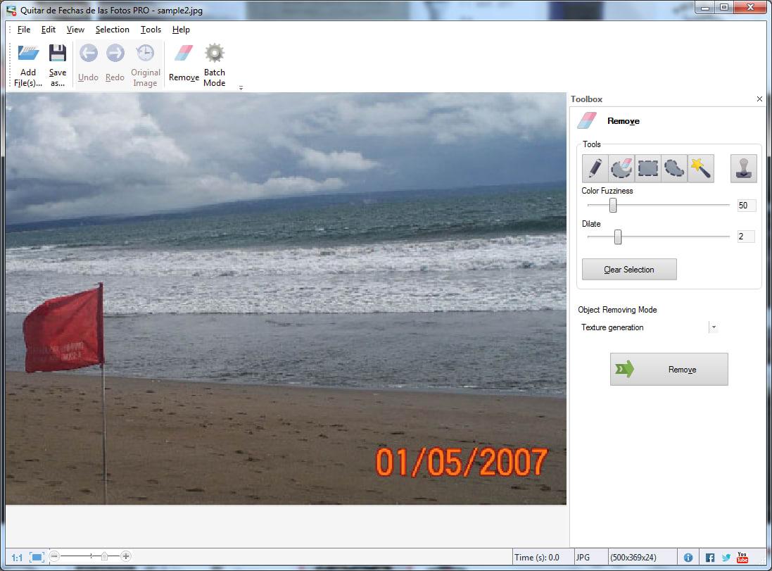 Quitar de Fechas de las Fotos PRO
