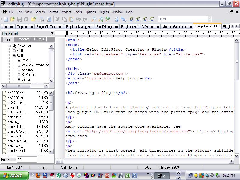 EditPlug