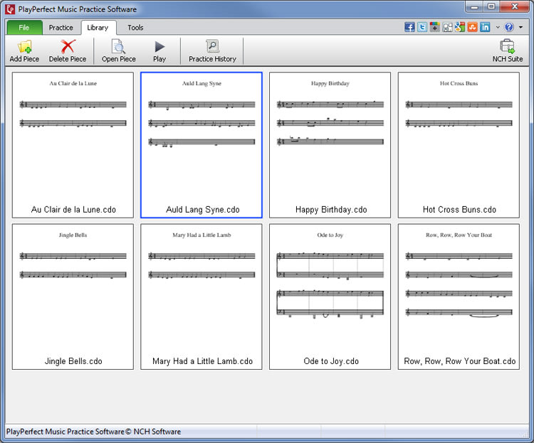 PlayPerfect Music Practice Software