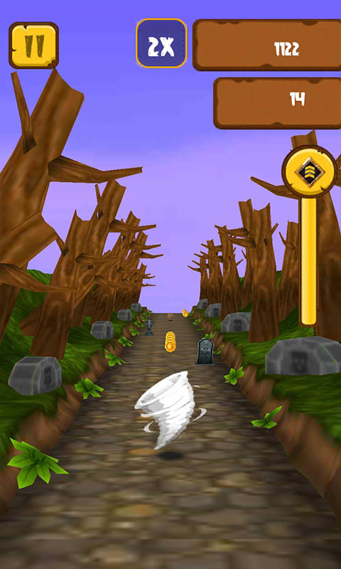 Temple Zombie Runner 3D Game
