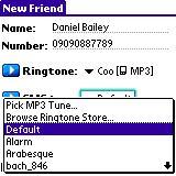 Ringo Pro pour Treo 600 & Treo 650