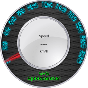 Light GPS Speedometer: kph/mph
