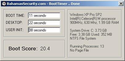 BootTimer