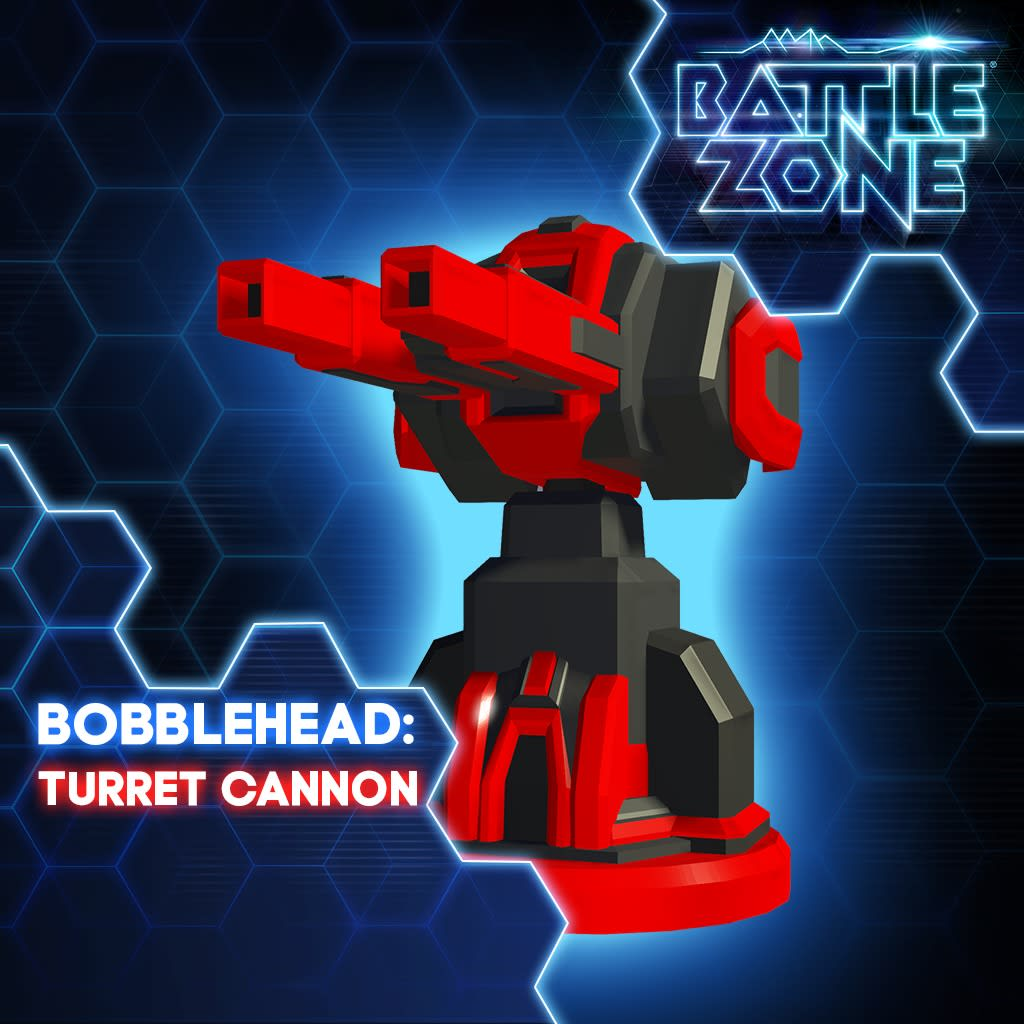 Cannon Turret Bobblehead PS VR PS4