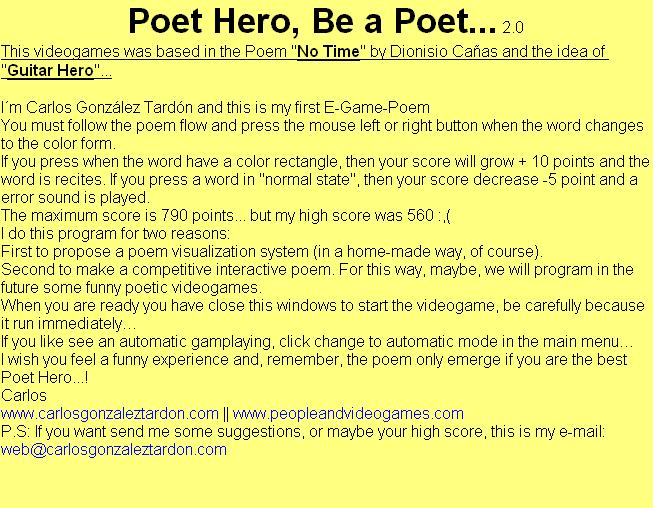 PoetHero