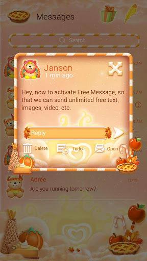 FREE-GO SMS THANKSGIVING THEME
