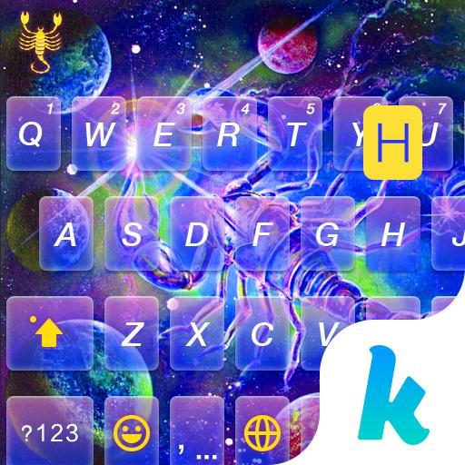 Scorpio Emoji Keyboard Colors 1.0