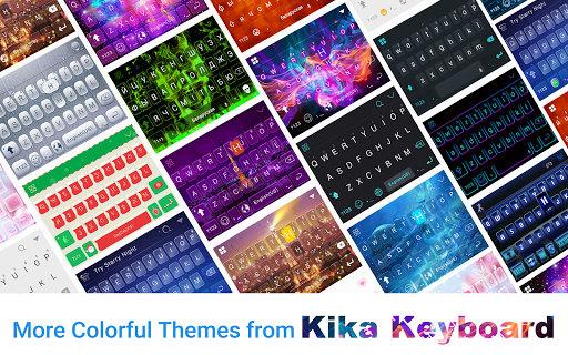 Purple Love Emoji Keyboard