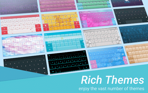 TouchPal Neon Glow Keyboard