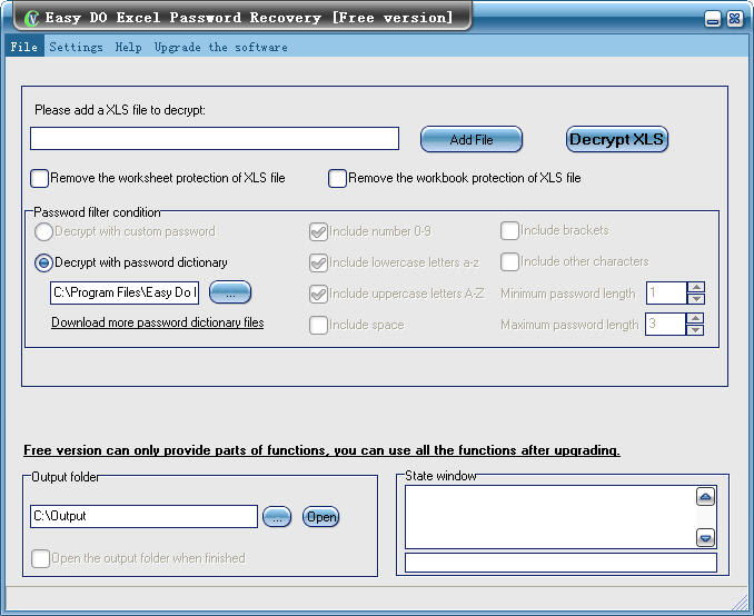 Free Easy Do Excel Password Recovery