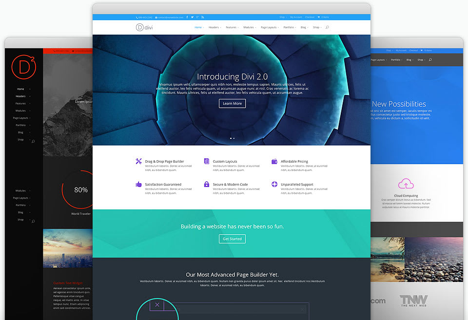 Divi - Theme for Wordpress
