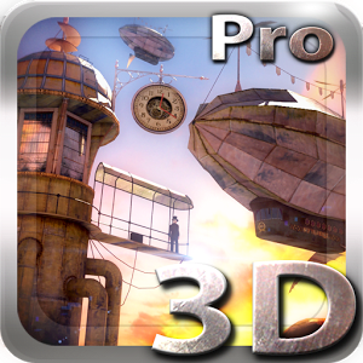 3D Steampunk Travel Pro lwp 1.3