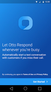 Otto - Auto-reply with SMS