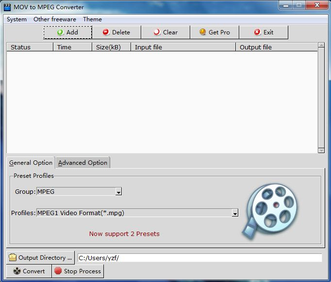 MOV to MPEG Converter
