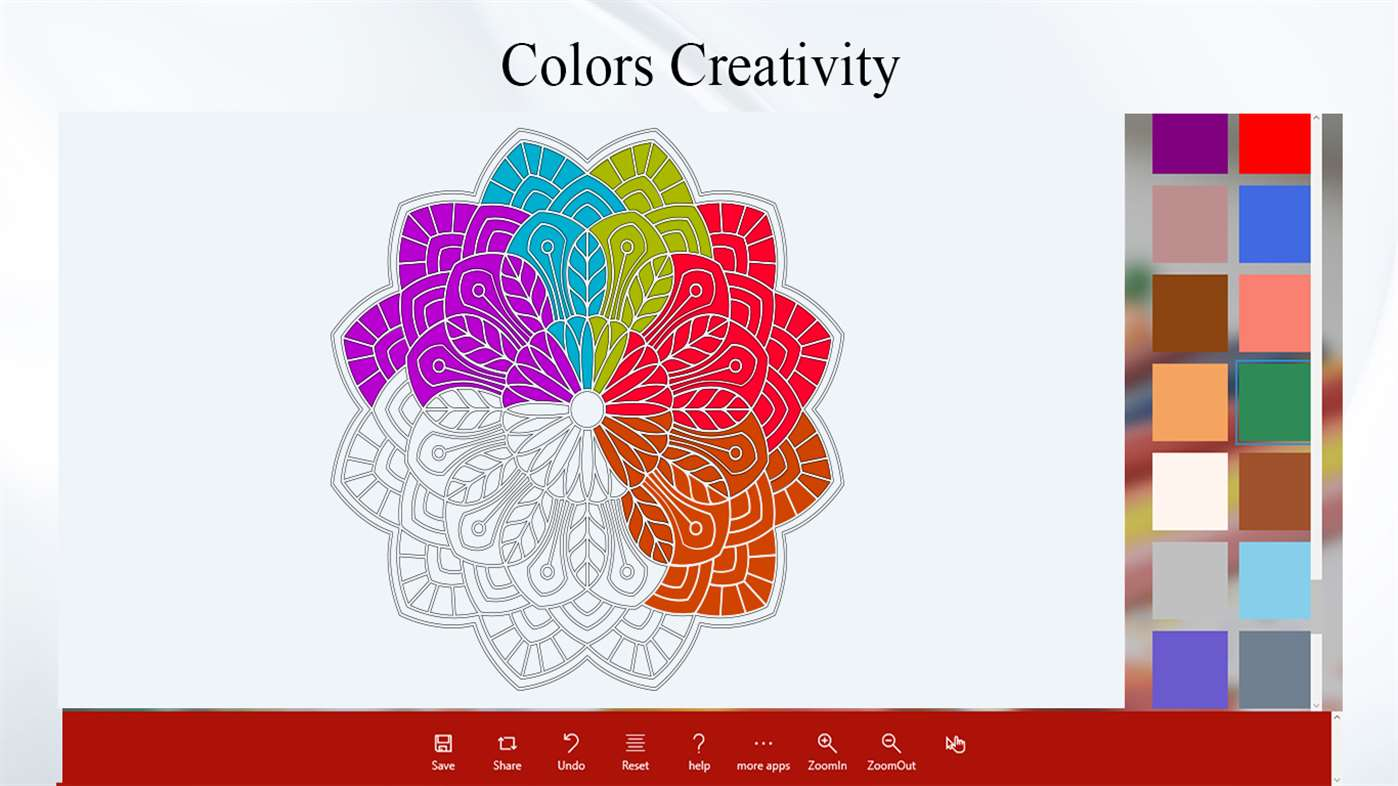 abstract coloring book download