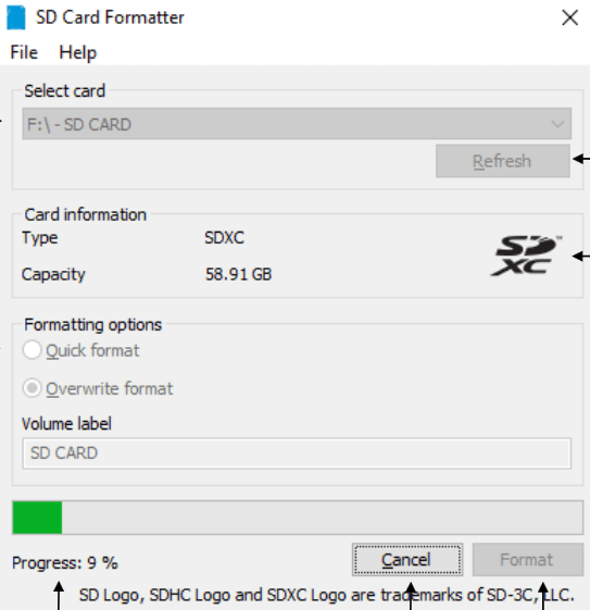 SD Card Formatter Download Free for Windows 10, 7, 8/8.1 ...