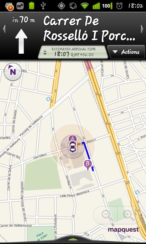 MapQuest For Android Download - Mapquest free us maps by google