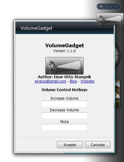 VolumeGadget