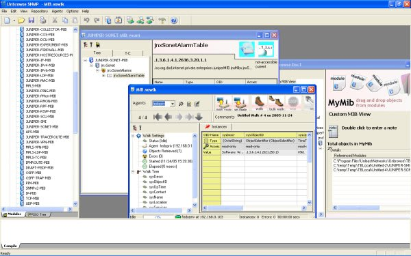 Unbrowse SNMP