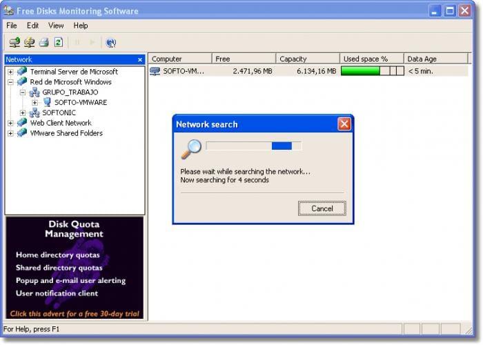 Free Disks Monitoring Software