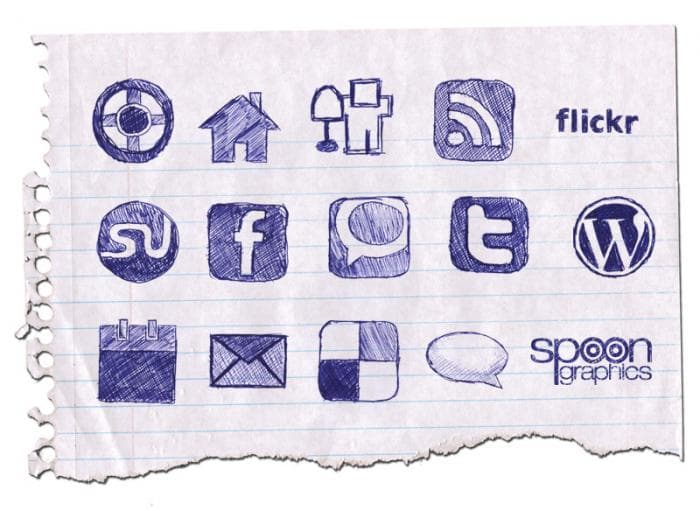 SpoonGraphics Doodle Icons