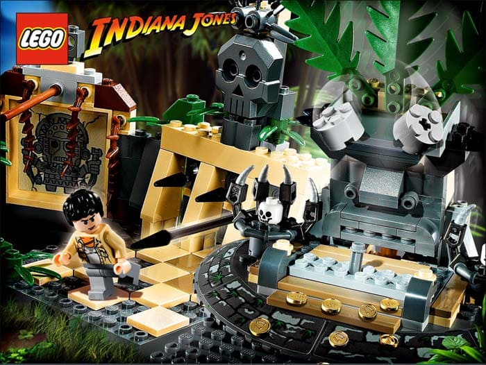 LEGO Indiana Jones Screensaver