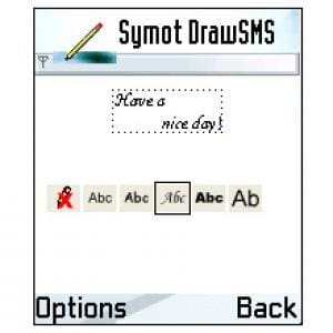 Symot DrawSMS
