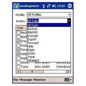 smsOrganizer