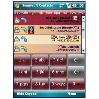 Sunnysoft Contacts