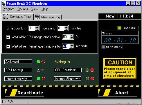 Smart Bomb PC Shutdown