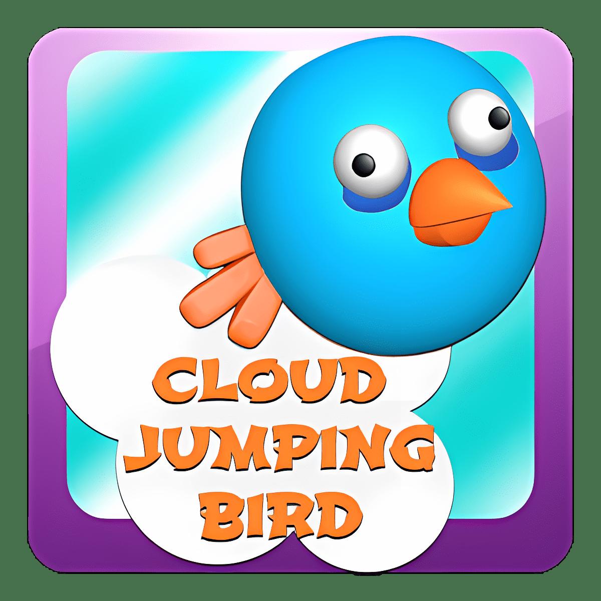 Pájaro Salto De Nube
