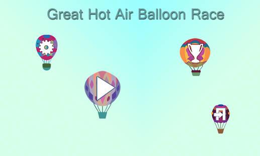 Carrera globo de aire caliente