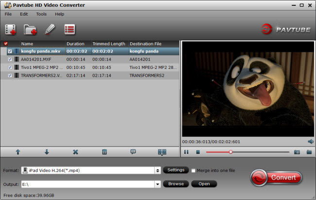 Pavtube HD Video Converter