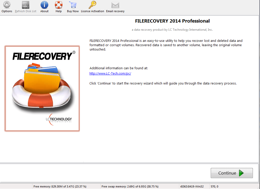 FILERECOVERY 2016 Professional for Mac OS X