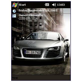 Audi R8 Theme