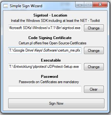 SignWizard