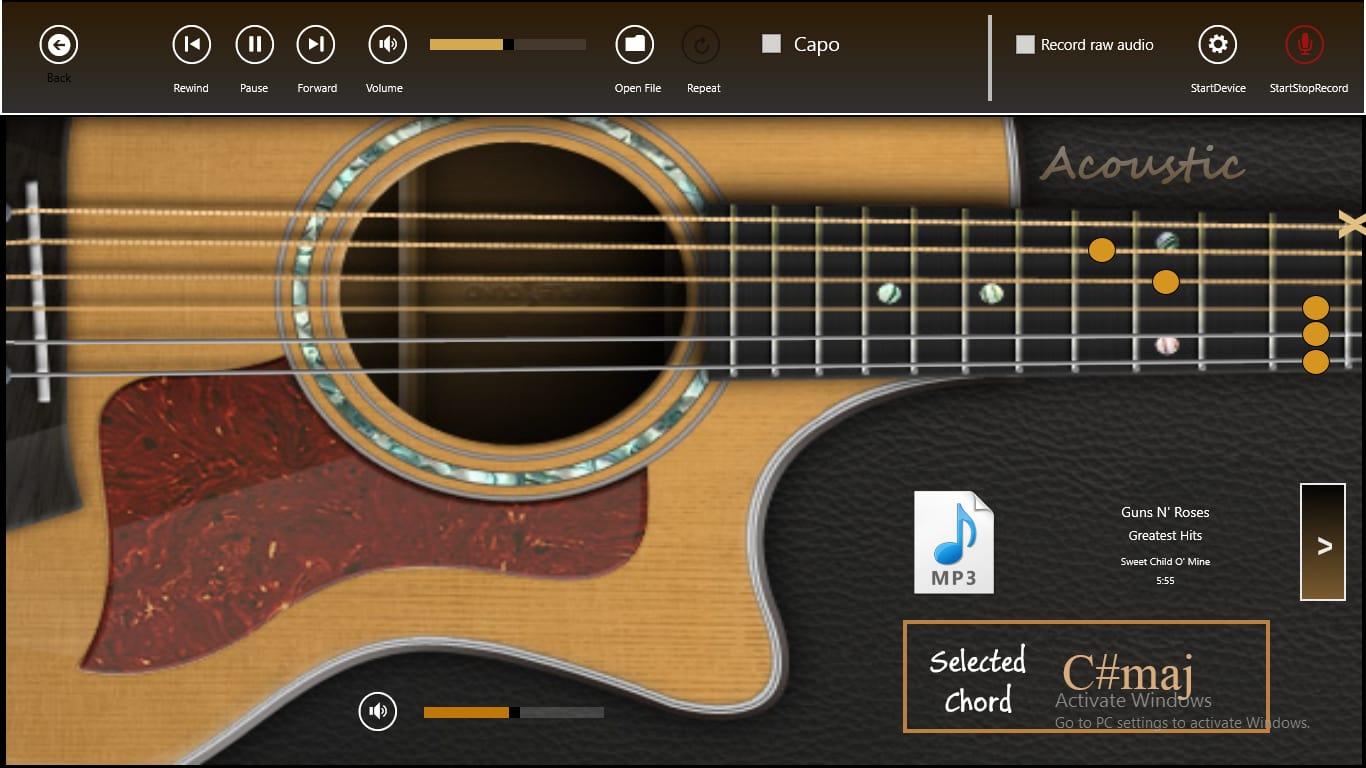 Звуки гитары на телефон скачать бесплатно