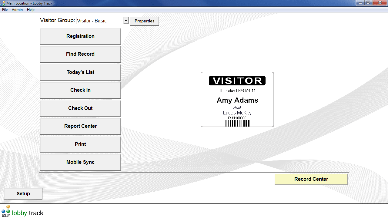 Lobby Track Free Visitor Management Software