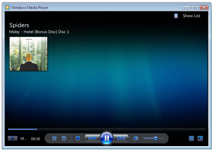 Mise à jour windows media player 12
