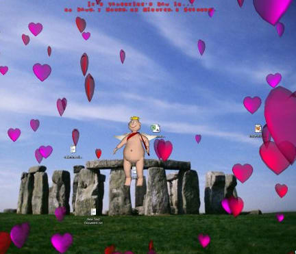 Cupid's 3D Valentine's Day Screensaver