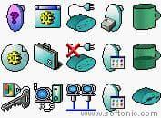 X Simon Icons