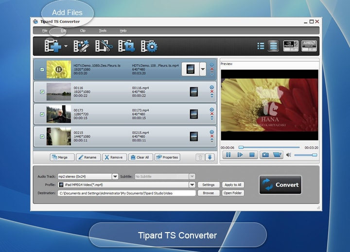 Tipard TS Converter