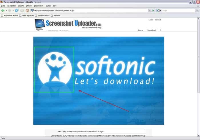 Screenshot Uploader