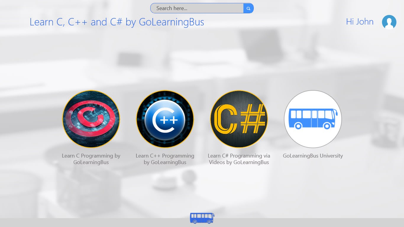 C, C++ & C# Programming-simpleNeasyApp by WAGmob