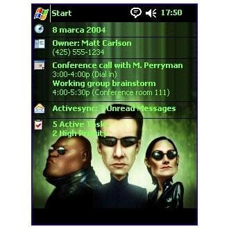 Matrix Caricature Theme