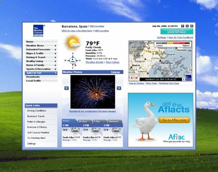 The Weather Channel Desktop Pros